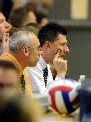 Coach Matt Wilson is hoping to lead Northeastern to a fifth straight PIAA Class 2-A state boys' volleyball crown.
