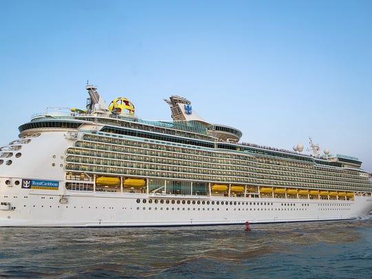 Royal Caribbean's 3,114-passenger Mariner of the Seas