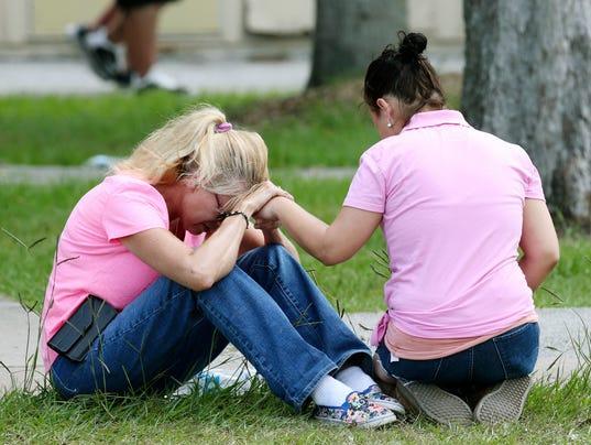 AP SCHOOL SHOOTING TEXAS A USA TX
