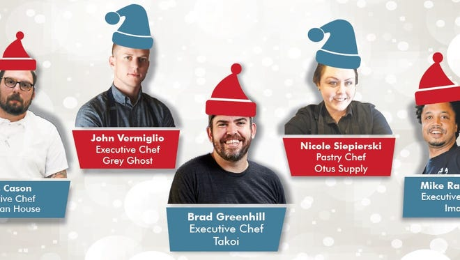 The Top 10 Takeover Holiday Makeover features five of Detroit's top chefs re-imagining the holiday feast.