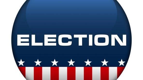 American Election icon button logo Vote