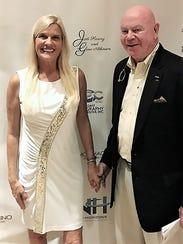 Presenting Sponsors Jodi Harvey, left, and Gene Atkinson
