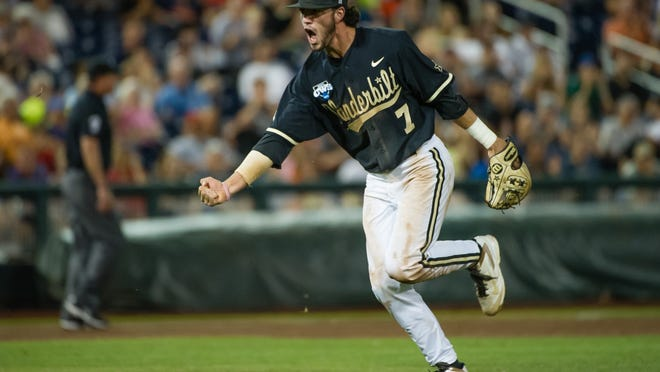 Vanderbilt's Dansby Swanson was an All-American second baseman for last year's surprise national title team. Now the Commodores enter the SEC Tournament with plenty of postseason experience.