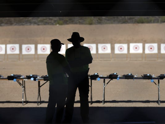 USP NEWS: WORLD RECORD SHOOTING ATTEMPT A ENL USA AZ