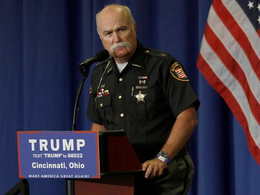 Sheriff receives hundreds of letters about Trump