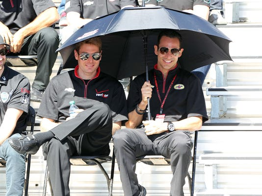 Will Power Helio Castroneves IndyCar