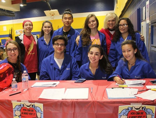 Somerset County Vocational & Technical High School hosts 10th Annual Blood Drive PHOTO CAPTION