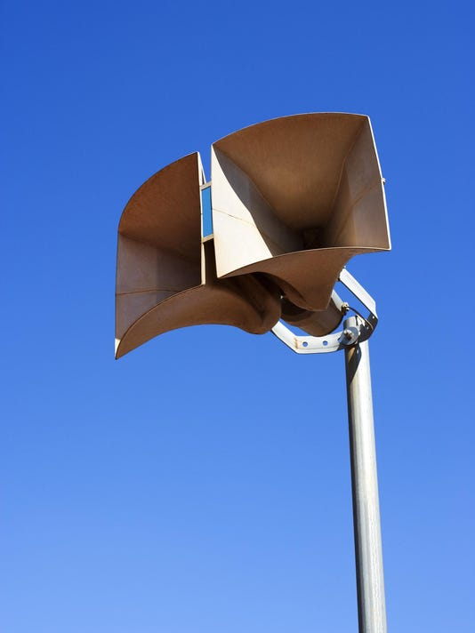 Pair of loudspeakers for public address system