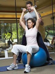 Strength training creates muscle fitness, which is an important factor in maintaining a healthy weight.