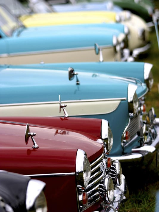 Array of vintage cars