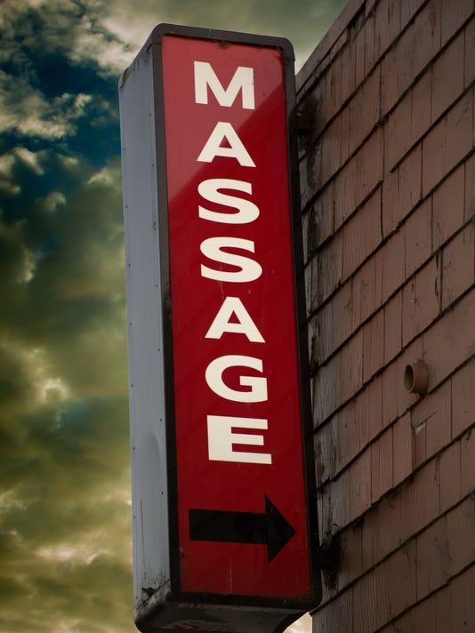 Massage Parlor Sign