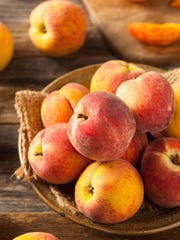 A really ripe peach will have a good fragrance.