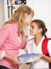 Sending a child off to school with lunch is an act