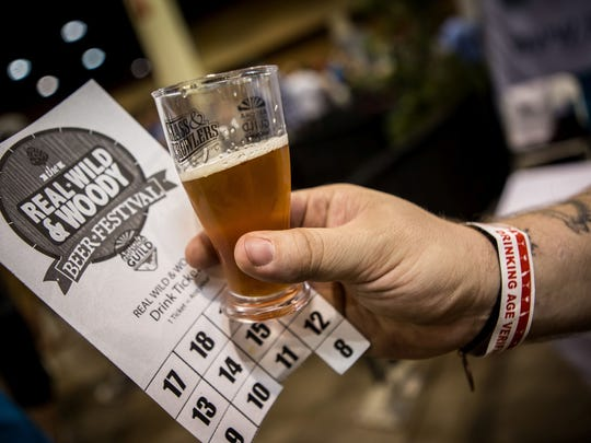These was plenty of beer to go around at the 2015 Real, Wild, & Woody Beer Festival at the Phoenix Convention Center.