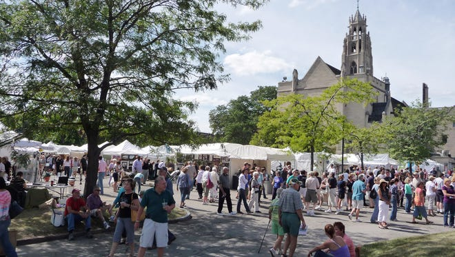 The M&T Bank Clothesline Festival takes place Sept. 10-11 at the Memorial Art Gallery.