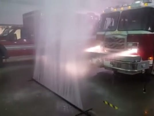 Drive Thru Car Wash >> Firefighters invent simple wash system that piques interest