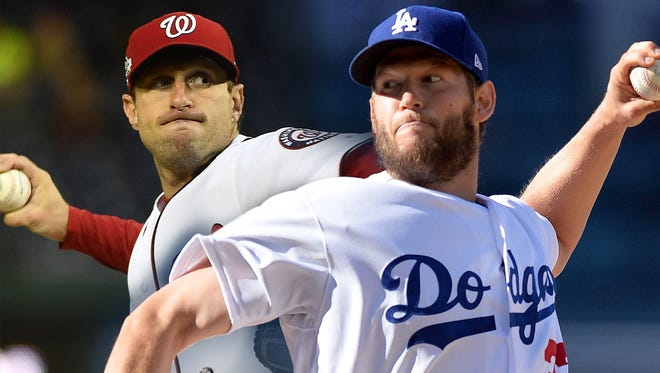 Max Scherzer and Clayton Kershaw each have three Cy Young Awards and are on track for Hall of Fame enshrinement.