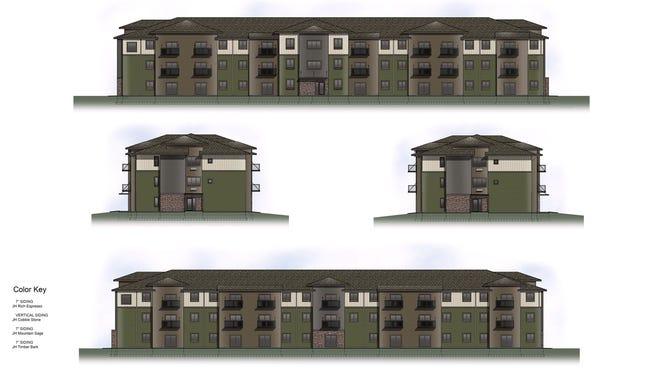 Renderings of Silverthorne Flats, 2105 S. Silverthorne Ave.