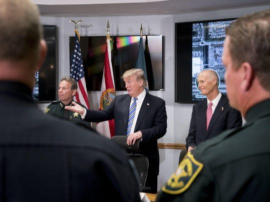 Donald Trump,Rick Scott,Scott Israel