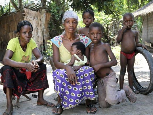 APTOPIX Congo Ebola Vaccine Stopping a Killer