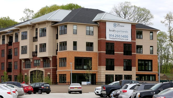 The Danforth Apartments at Rivertowns Square, a mega development that includes shops, restaurants, apartments, movie theater, supermarket and hotel, in Dobbs Ferry May 3, 2017.