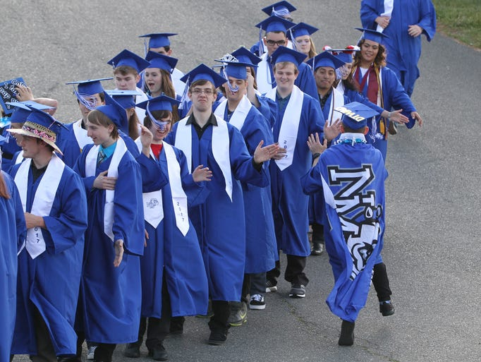 North Mason High School class of 2017 graduation, June