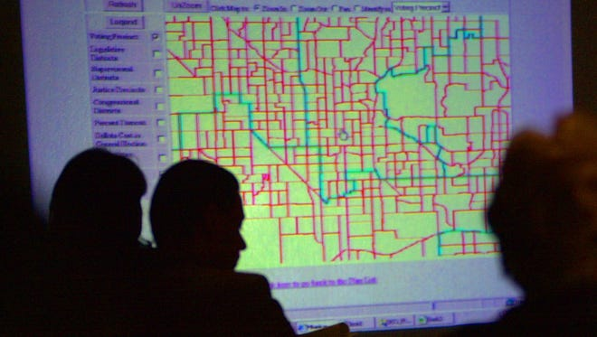 The Arizona Independent Redistricting Commission is responsible for drawing political district boundaries that serve as election maps for state legislative and congressional offices.