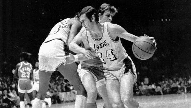 Jerry West was an All-Star in all 14 years he played in the NBA.