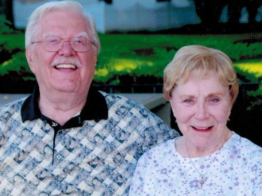Louis and Betty Jane Cichon started their family in San Angelo after he was stationed at Goodfellow Air Force Base in 1943.