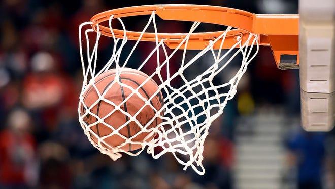 Light slate of basketball.