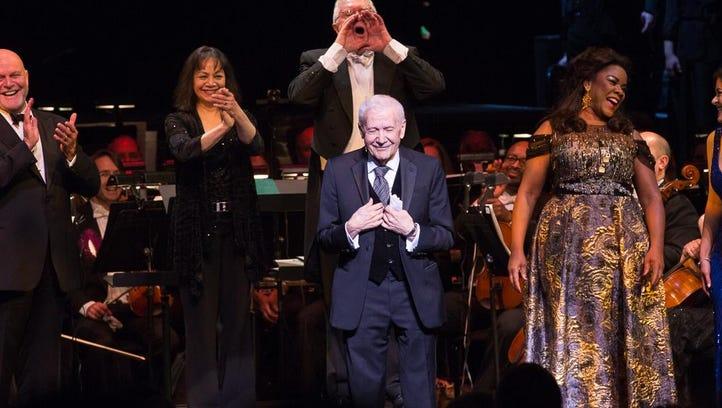 Michigan Opera Theatre founder David DiChiera accepts