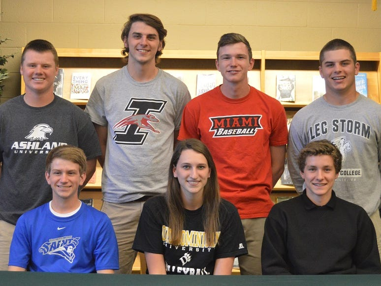 local players sign college letters of intent