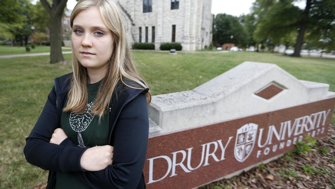 Becka Jackson, a sophomore at Drury University who enrolled in the environmental studies program, found out earlier this year that it will no longer be offered as a major.