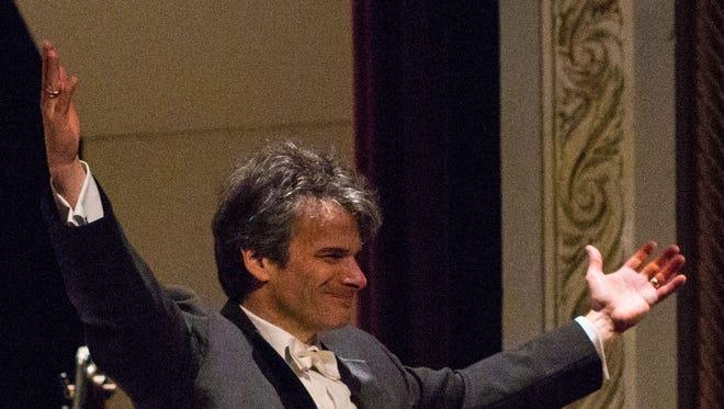 Hudson Valley Philharmonic conductor Randall  Craig Fleischer
