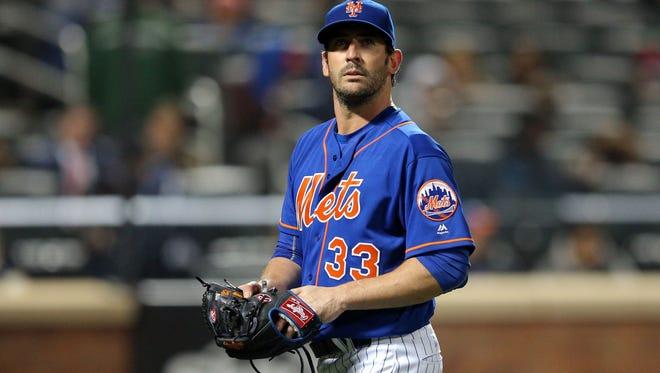 Matt Harvey will return to the Mets rotation Friday in Milwaukee.