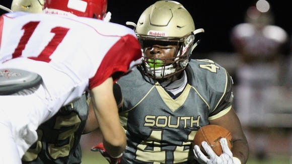 Clarkstown South and running back Kyle Walker will travel to Spring Valley High School at 7 p.m. Friday, Sept. 7, 2018.