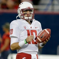 Washington St has questions at QB now that Falk has moved on