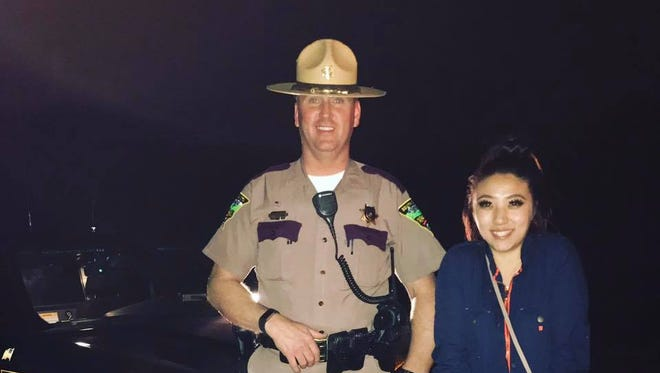 Chao Vang, a college student from Wisconsin, was headed back to school in Idaho on April 8 when a raccoon hit her car and stranded her in Rapid City. She posted a thank-you to a South Dakota Highway Patrol trooper the next day and her gratitude has gone semi-viral.