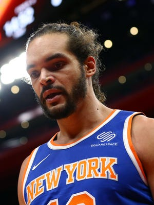 Joakim Noah's tumultuous stint with the Knicks is over.
