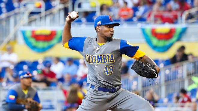 Teheran retired the final 13 batters he faced against Canada.