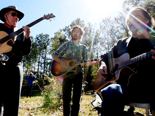 The annual Lead Belly Graveside Jam Saturday afternoon