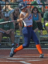 Harrison senior Kenzie Rusk will compete with amateur team Softballone at a tournament in Taiwan this week.