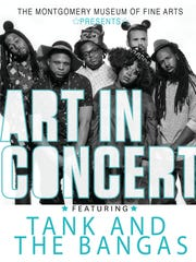 Tank and the Bangas perform in concert Friday at the