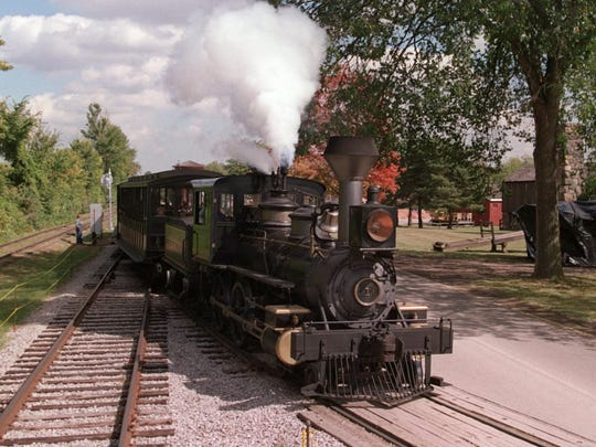 Experience Michigan's fall colors on these historic trains
