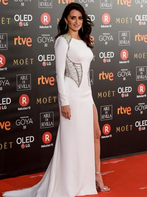 Penelope Cruz attends Goya Cinema Awards 2018 on Feb. 3, 2018 in Madrid, Spain.