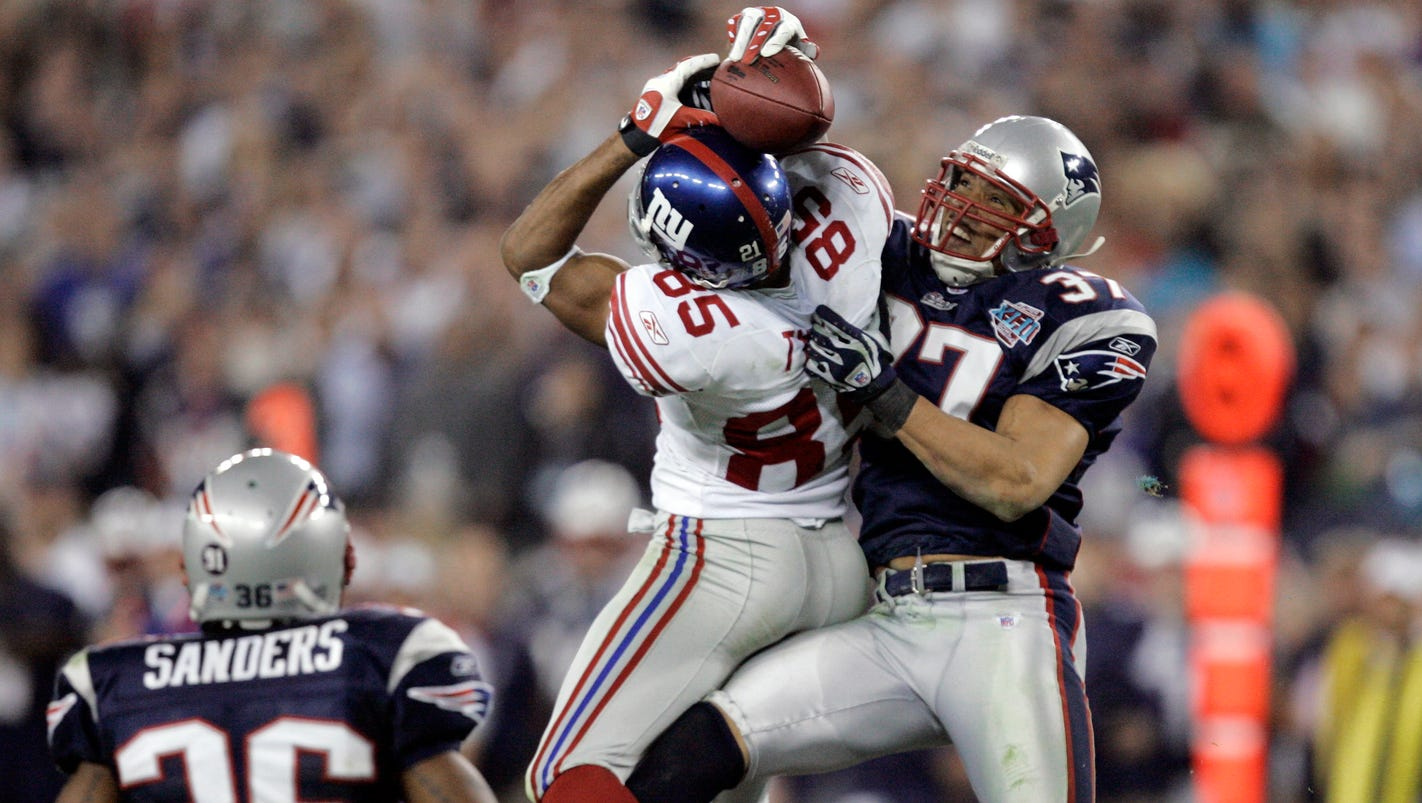 david tyree u0027s u0027helmet catch u0027 ended historic run for patriots