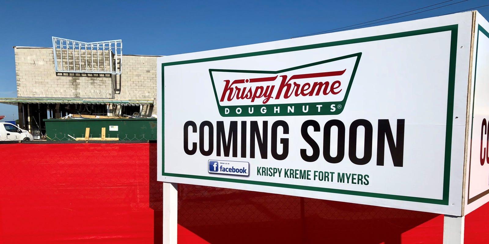 Krispy Kreme Fort Myers Announces Opening Date Hot Doughnuts Soon
