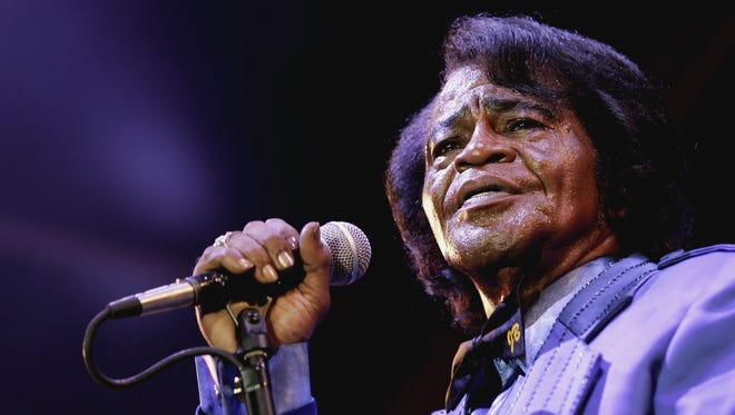 Singer James Brown performs in London on July 4, 2006. He died later that year.