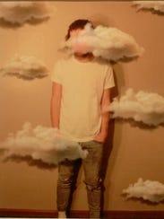 "Brian Tenbarge, ""Cloudy Future,"" digital print"