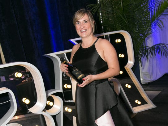 Marta Delfa, brand ambassador from the featured vintner,